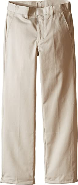 Nautica Kids Regular Fit Flat Front Pants (Big Kids)