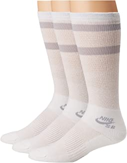 Crew Skateboarding Socks 3-Pair Pack