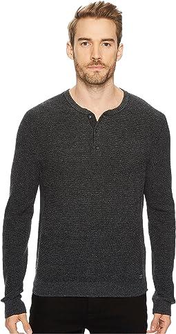 Lucky Brand - Stitch Henley Sweater