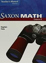 Saxon Math, Course 2, Teacher's Manual, Volume 1, 9781591418375, 1591418372, 2007