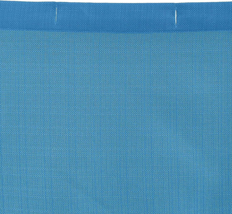Basics azul marino Cortina de ba/ño con patr/ón en espiga