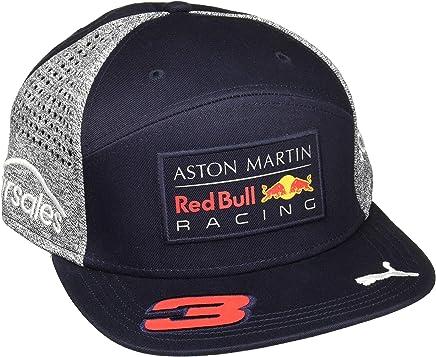 4b09f138 Red Bull Formula 1 Racing 2018 Aston Martin Daniel Ricciardo Flatbrim Team  Hat