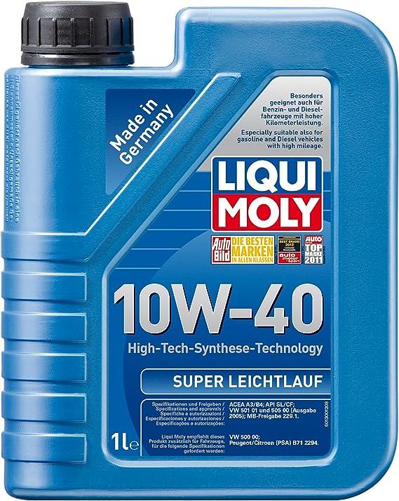 Liqui Moly 1300 Super Leichtlauf 10w 40 1 L Auto