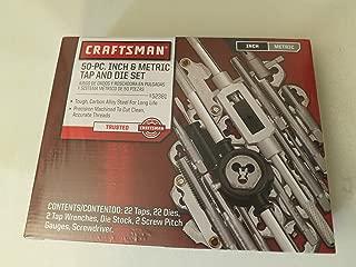 Craftsman Tap & Die SET 50pc Sae-met