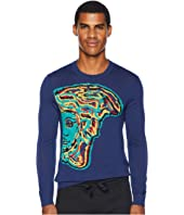 Versace Collection - Reverse Weave Medusa Sweater