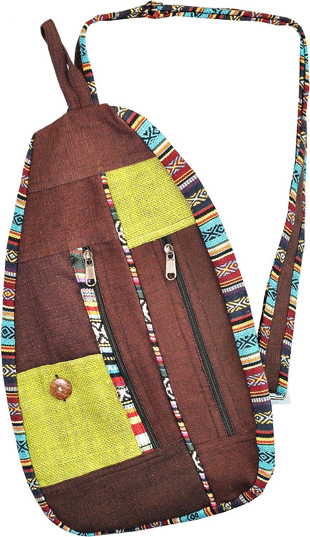 Sling Ethnic Festival Shoulder Boho Hippy bag Holiday Backpack Colourful