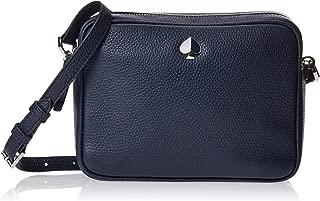 Kate Spade Polly Ladies Medium Blazer Blue Leather Camera Bag PXRUA203429