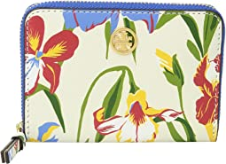 Tory Burch - Printed Floral Coin Case