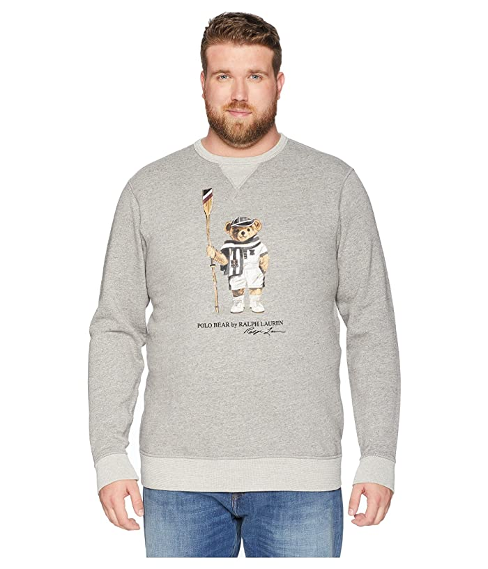 140172c7677a4c Polo Ralph Lauren Big & Tall Big & Tall Vintage Polo Bear Fleece Sweatshirt