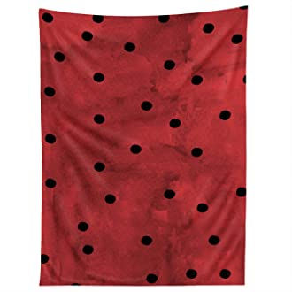 Standard Deny Designs 71 by 74-Inch Georgiana Paraschiv Flamenco Dots Shower Curtain
