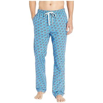 Vineyard Vines Hockey Whale Lounge Pants (Hull Blue) Men