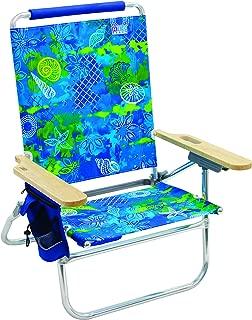 Rio Beach Bum Folding Beach Chair - Baja Boho Palms (Renewed)