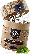 Liebenstein® Cristaux de menthol bio Sauna [100g] - Emballage durable et cuillère doseuse en bois - Qualité supérieure bio...