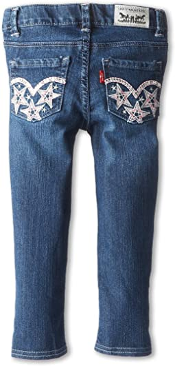 Levi's® Kids - Sabina Butterfly Denim Legging (Toddler)