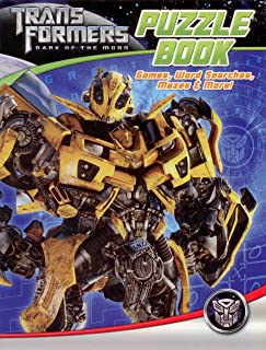 Transformers Dark of The Moon Puzzle Book