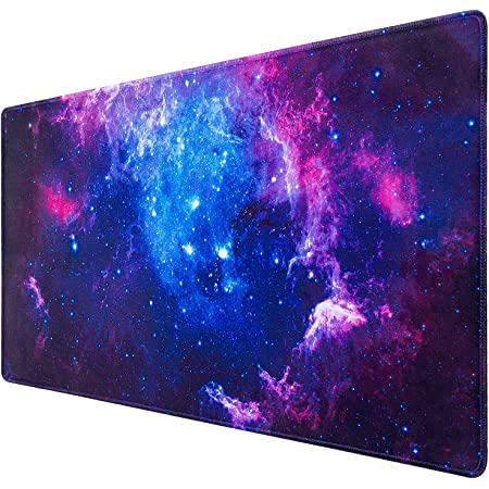 Water-Resistant Long Mousepad Desk Pad Keyboard Mat for Work /& Gaming Iris Earth Flower Breath Extended Gaming Mouse Pad with Stitched Edges Office /& Home 29.5x15.7In Non-Slip Base
