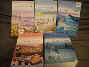 Kristin Hannah Collection: Summer Island+Distant Shores+On Mystic Lake+Firefly Lane+True Colors