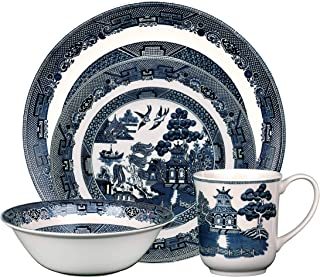 Best johnson brothers blue willow dishes Reviews