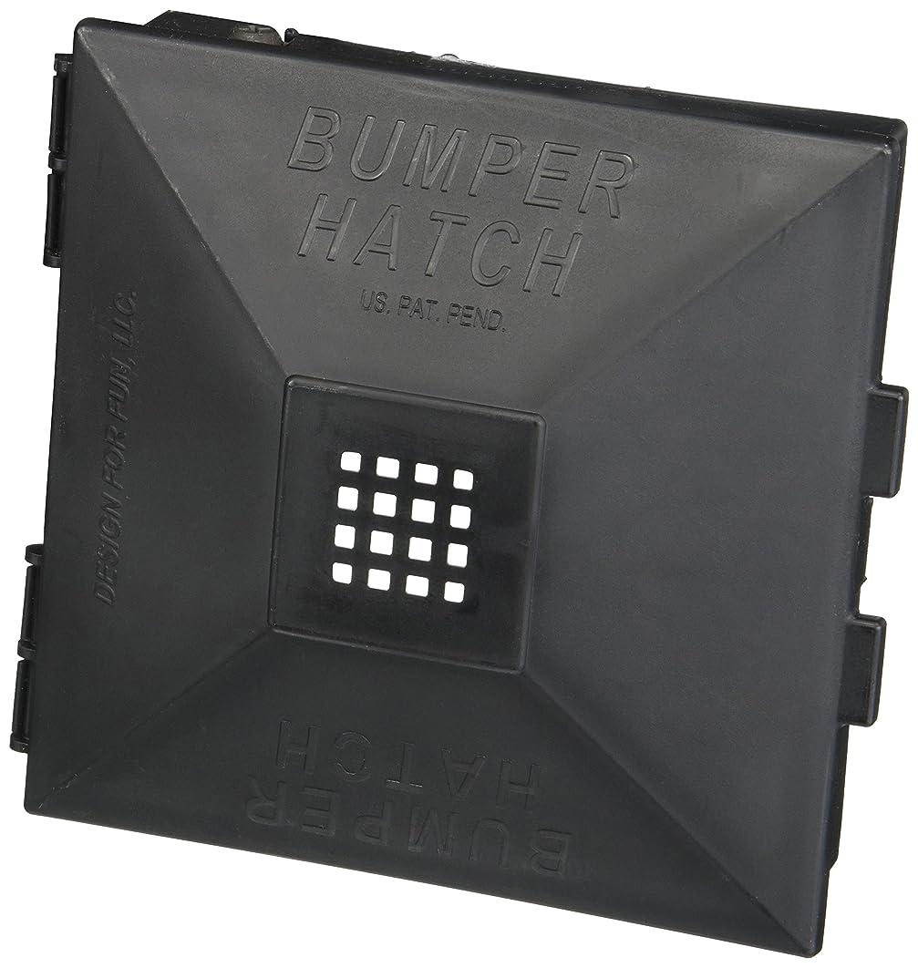 Design for Fun 910 Black Bumper Hatch Cover, (Pair)