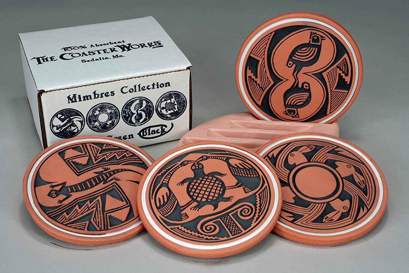 The Coaster Works: 100% Absorbent Coasters -- Mimbres