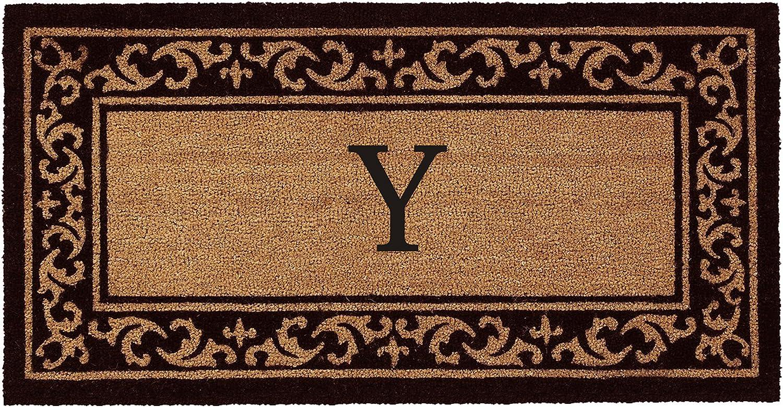 Kendall Monogram Doormat 24  x 48  (Letter Y)
