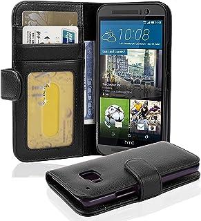 b527ca641fd Cadorabo HTC One M9 (3. Generación) Funda de Cuero Sintético Estructura en  ÓXIDO