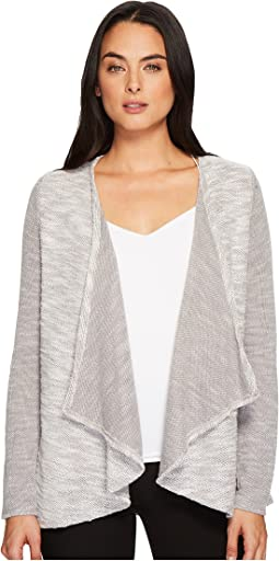 Ivanka Trump Textured Fly Away Cardigan
