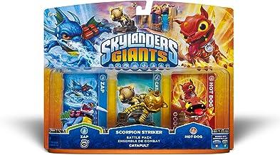 $57 » Skylanders Giants Battle Pack #2: Zap - Scorpion Striker - Hot Dog