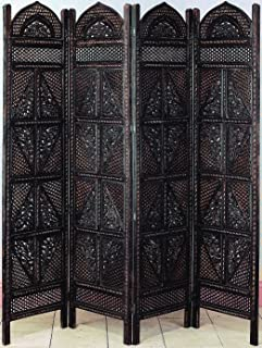 Deco 79 Wood 4 Panel Screen Ultimate in Screen Category