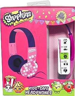 سماعات أذن للأطفال من شوبكينز Hp2-03033 - ارجواني