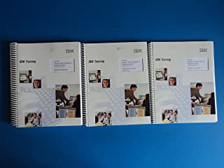 IBM AIX 5L System Administartion I: Implementation Course Code Q1314 Training - 3 Books Including Student Notebook ERC 11.0