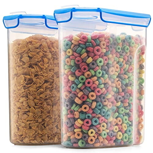Airtight Cereal Containers Storage Set - 2-Pack [168 oz. 21 cup]