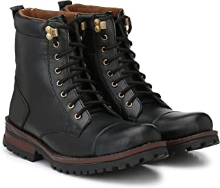 Andrew Scott Men's Black Leather Formal Shoes-10 UK/India (44 EU) (744Black_10)