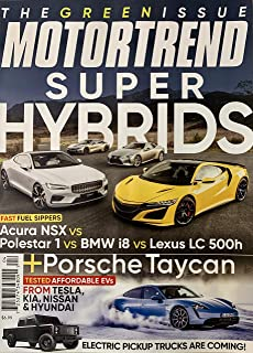 MOTORTREND MAGAZINE - APRIL 2020 - SUPER HYBRIDS