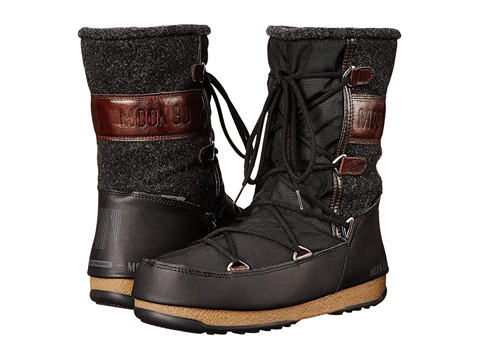 Tecnica Moon Boot(r) Vienna Felt (Black) Women