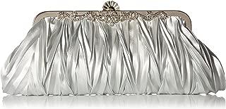 Best silver gray clutch bag Reviews