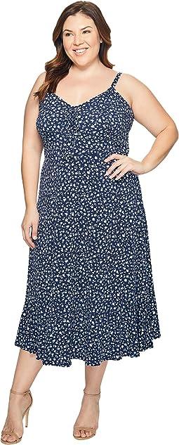 Plus Size Quinn Lacing Slip Dress