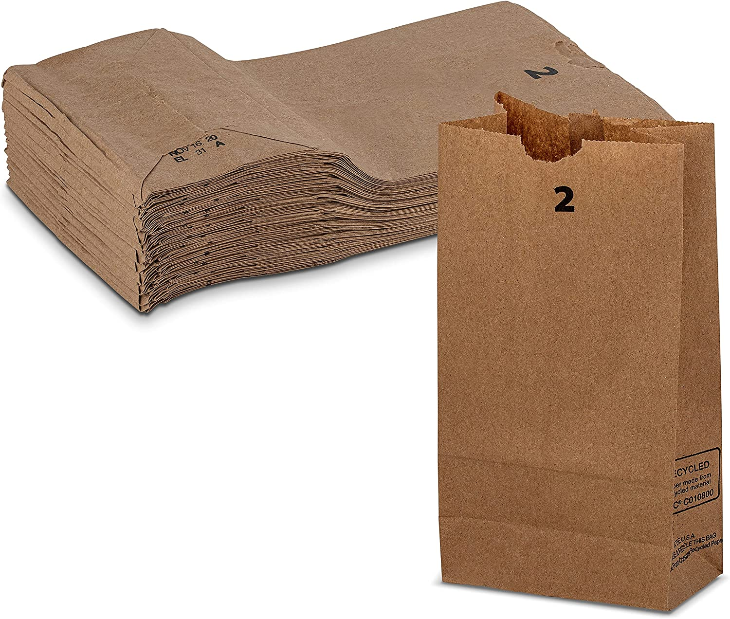 Strong Special Campaign and Durable 2 lb Capacity Paper Limited Special Price Bag Keeps Kraft Fres Food
