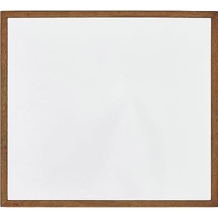 """Amazon Brand – Rivet Brecken Modern Mirror Wood Frame, 41"""", Brown"""