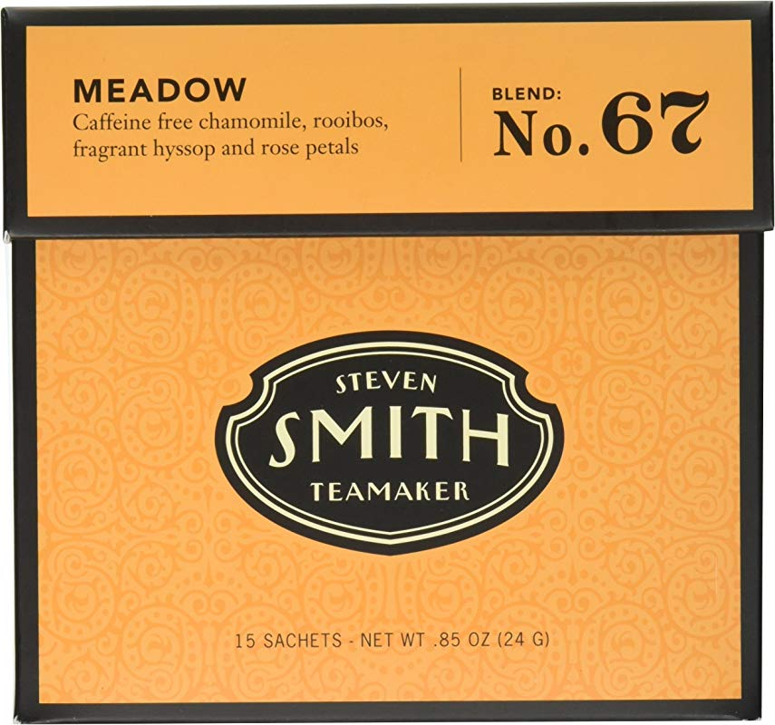 Smith Teamaker Meadow Blend No 67 Large Cut Herbal Infusion 0 85 Oz 15 Bags
