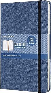 Moleskine Limited Collection Notebook Denim Large Ruled Antwerp Blue