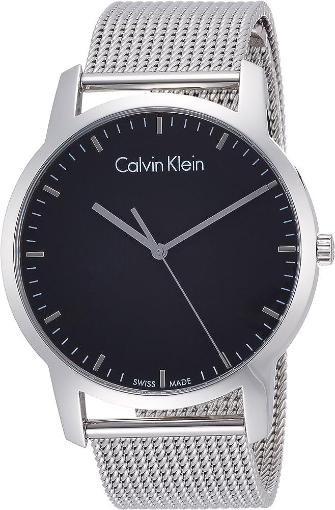 Calvin klein orologio elegante per uomo,in acciaio inossidabile K2G2G121