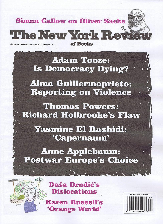 可塑性脚本スキャンThe New York Review of Books [US] January 16 2019 (単号)