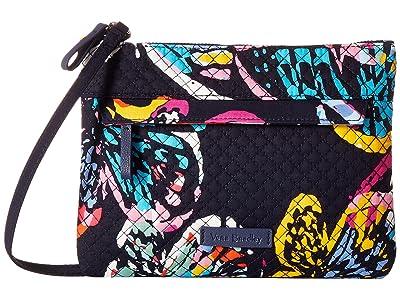 Vera Bradley Iconic Custom Crossbody (Butterfly Flutter) Cross Body Handbags