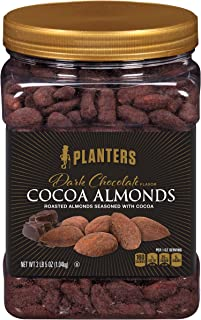 Planters Dark Chocolate Flavor Cocoa Almonds (37 oz Canister)