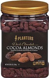 Planters Dark Chocolate Flavor Cocoa Almonds (37 oz Canister)