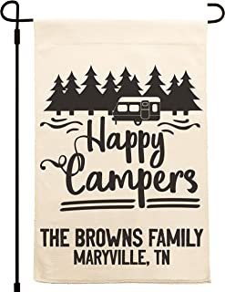 """People People Personalized Garden Flag 12.5""""x18"""" 