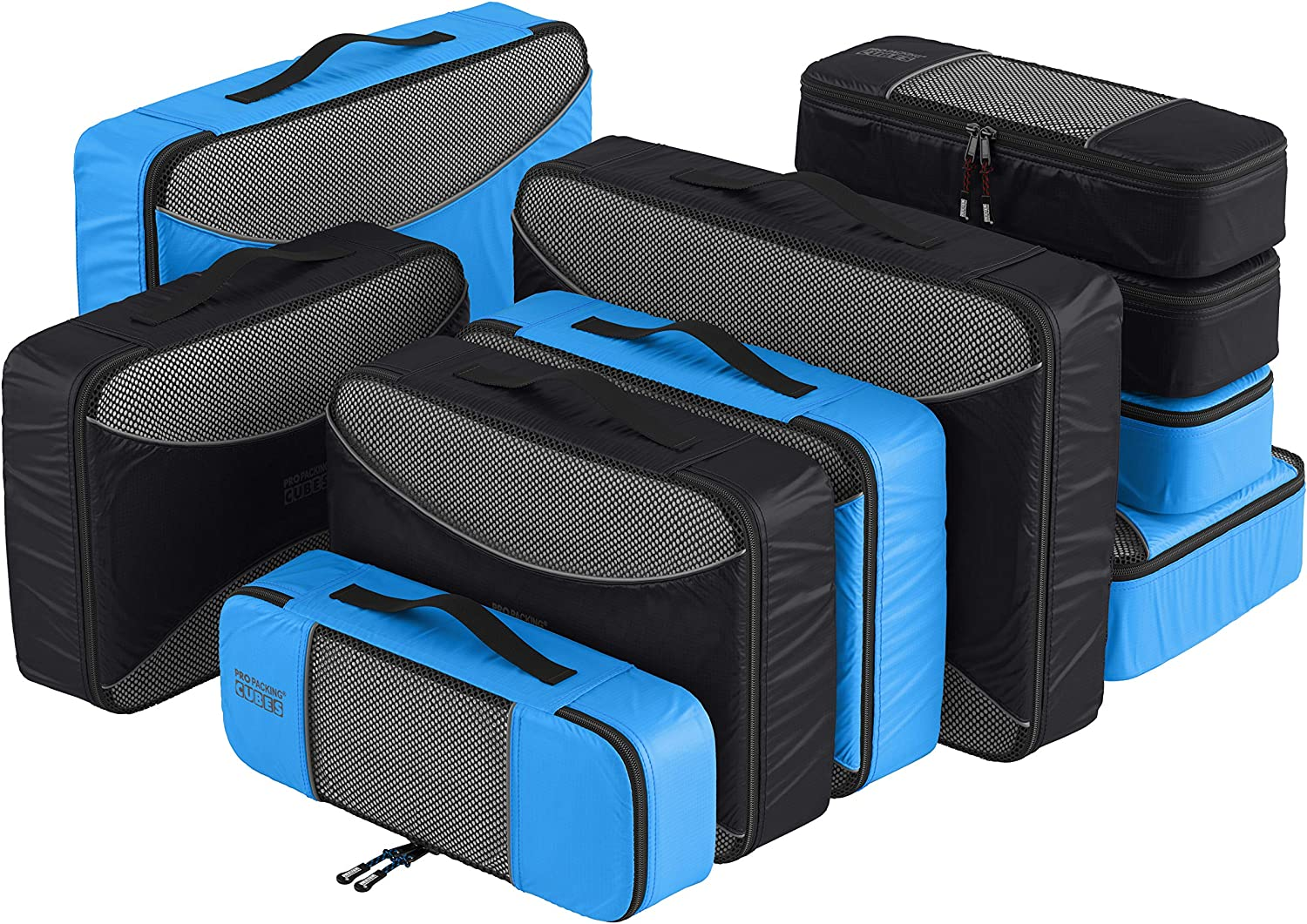 PRO Packing Sales of SALE items from new works Cubes for Popularity Travel Set Piece Luggage 10 Organizer