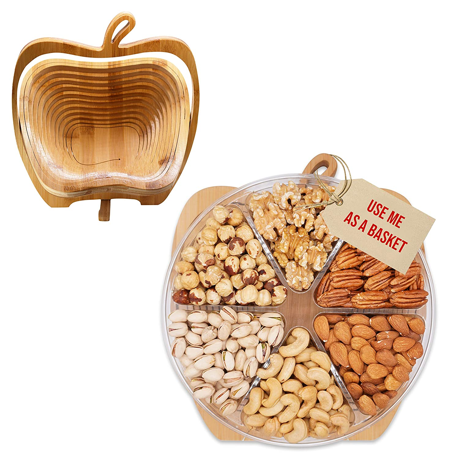 Chicago Mall Secret Garden`s Dried Fruit and Nuts Gift Gourmet Food Limited time for free shipping T Baskets