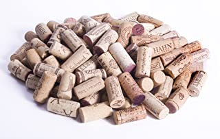 Assorted Used Real Wine Corks for Upcycle Crafts - 100pc